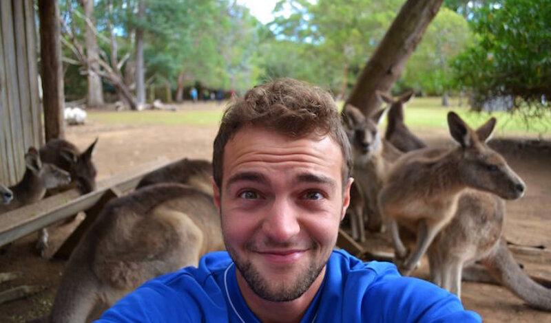 Marco Cornetto e il suo libro sull'Australia Image