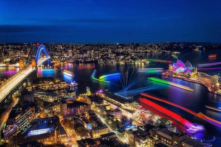 Vivid Sydney 2018: il festival di luci, musica e idee