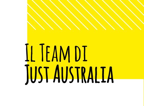 Just Australia: ecco il nostro team! Image